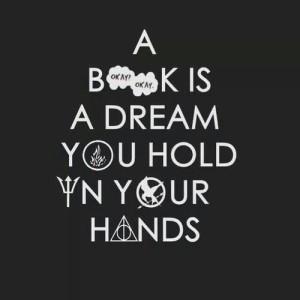 book dream hand